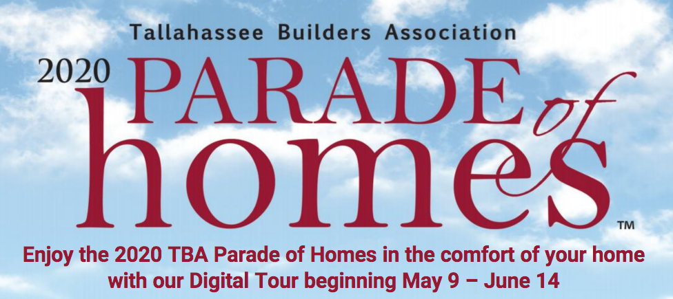parade of homes feature lettering