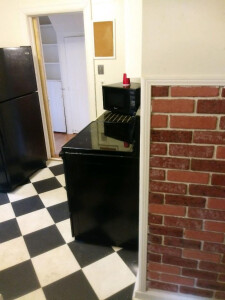 5. BEFORE Kitchen Hallway Wall