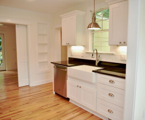8. AFTER Kitchen looking toward Side Entry