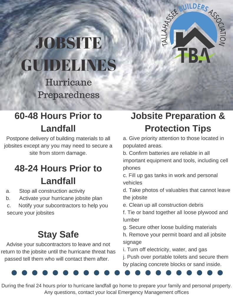 jobsite guidelines